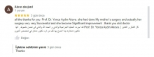 All the thanks for you Dr. Yonca Akova